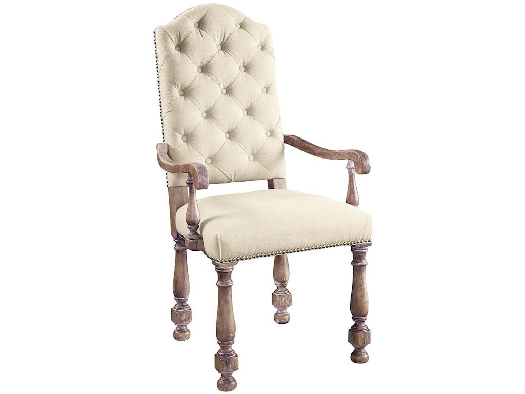 Pulaski Furniture Accentrics HomeAmethea Dione Arm Chair