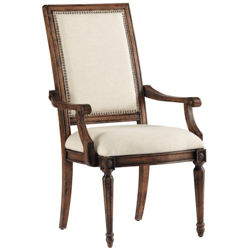 Pulaski Furniture Accentrics Home Nimes Arm Chair