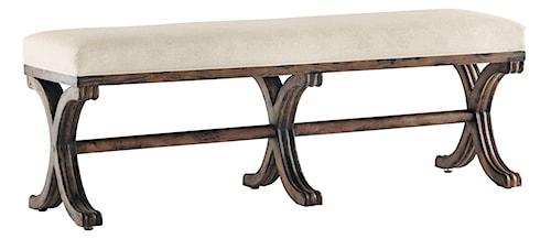 Pulaski Furniture Accentrics Home Konya Bench