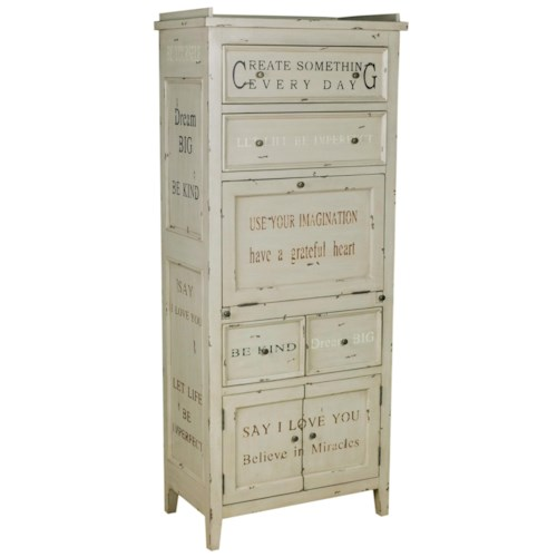 Pulaski Furniture Accents Inspirational Tall Accent Cabinet