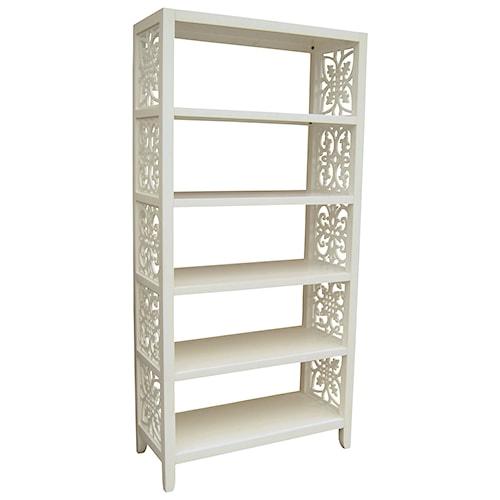 Pulaski Furniture Accents 5 Shelf Mario Bookcase/Etagere
