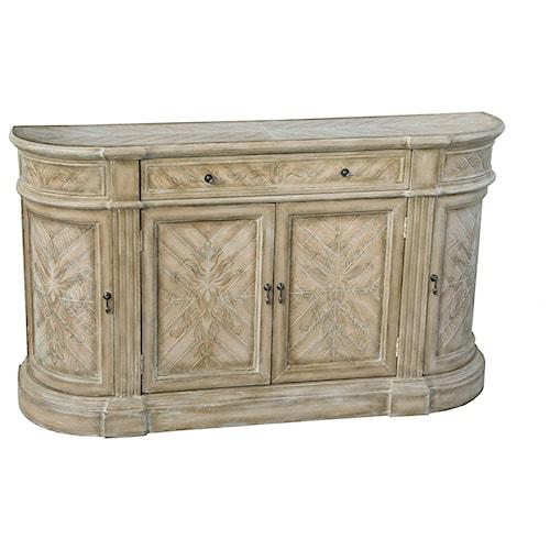 Pulaski Furniture Accents Villa Romantique Credenza