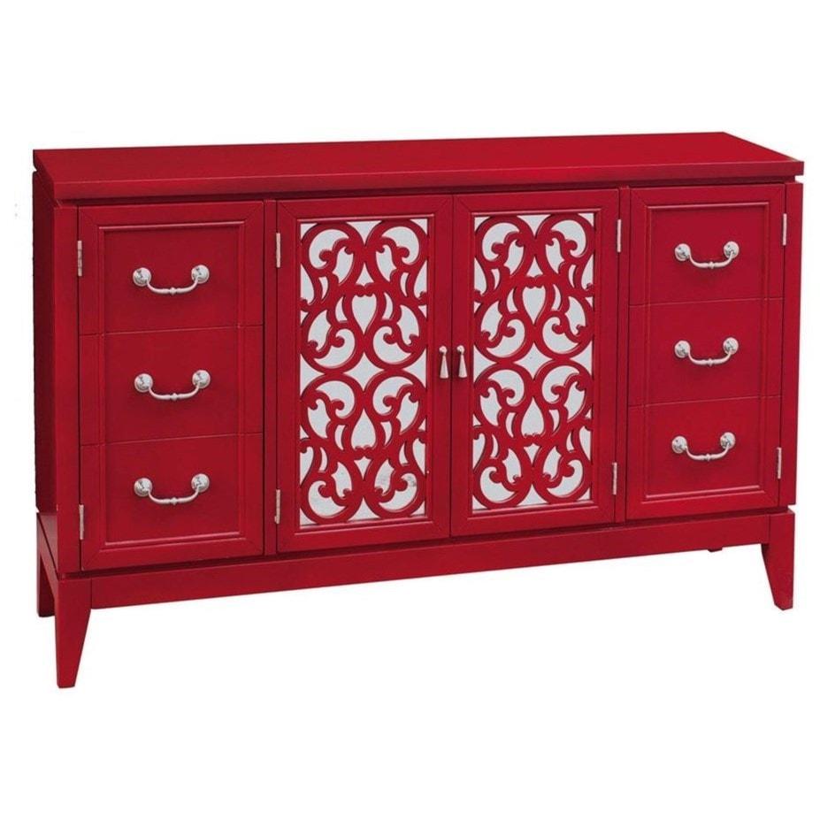fretwork furniture. Pulaski Furniture AccentsRandy Rouge Console Fretwork R
