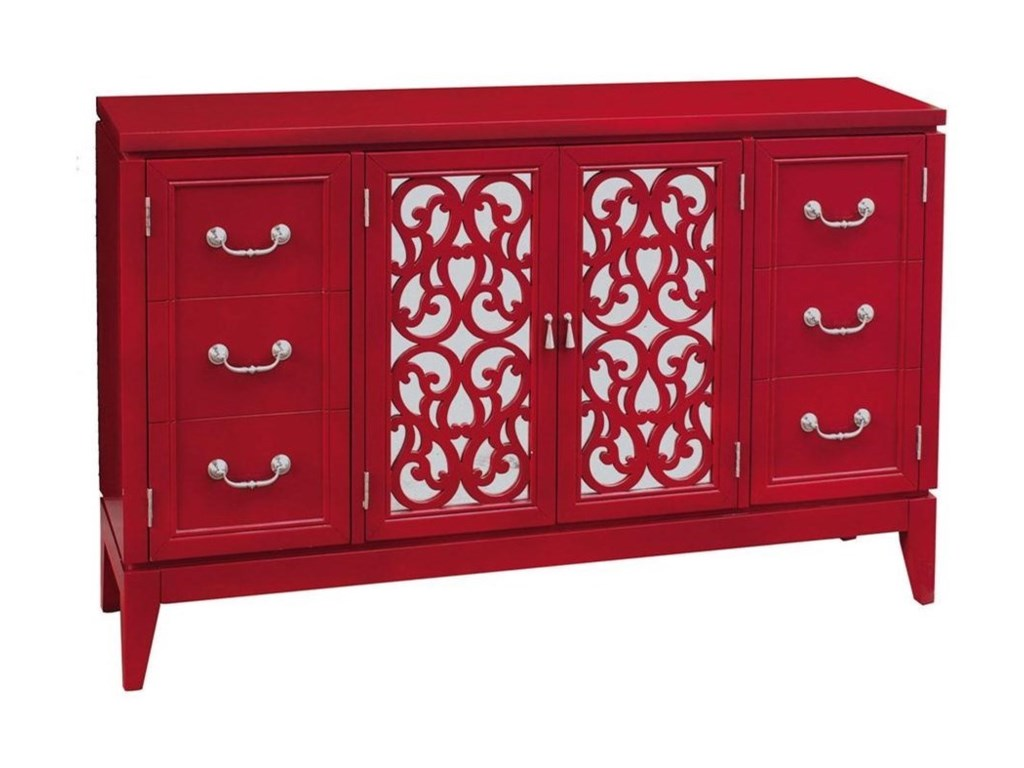Pulaski Furniture AccentsRandy Rouge Console