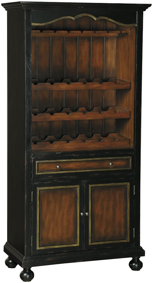 Pulaski Furniture Accents Corde Valle Wine Cabinet