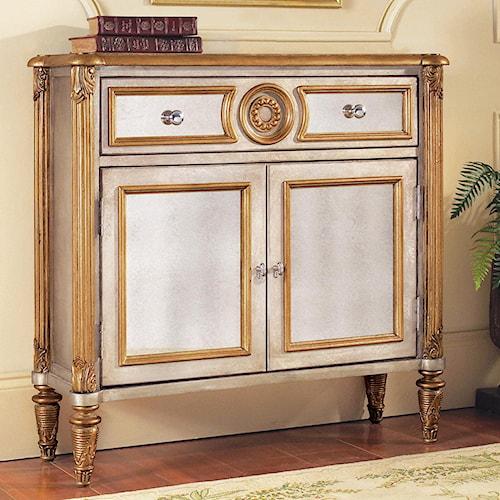 Pulaski Furniture Accents 2 Door Mirrored Hall Chest
