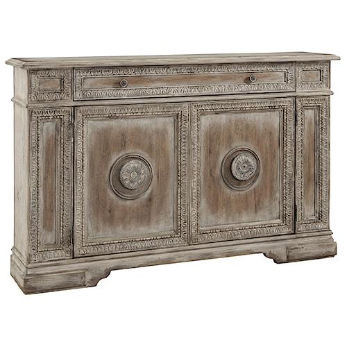 Pulaski Furniture Accents Distressed Hallway Chest