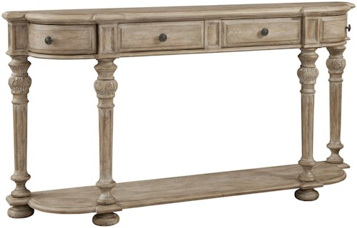 Pulaski Furniture Accents 4 Drawer Console Table
