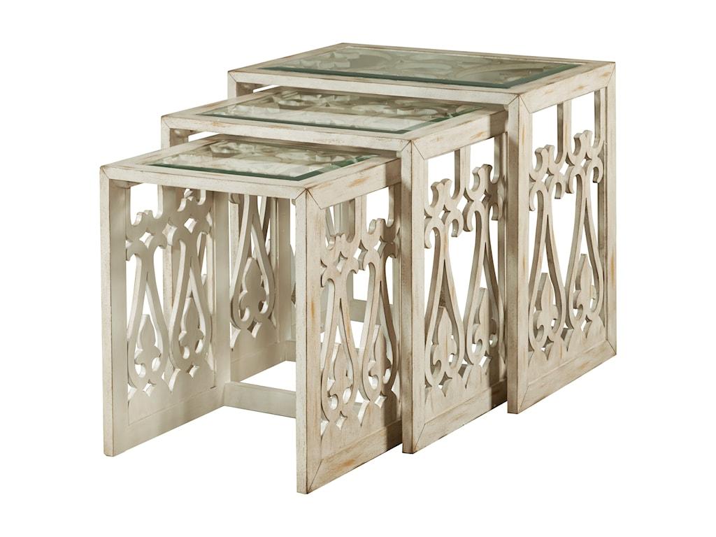 Pulaski Furniture AccentsSummer Nesting Table