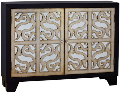 Pulaski Furniture Accents Finesse Accent Console with Wine Storage