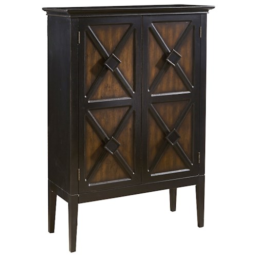 Pulaski Furniture Accents Norman Accent Cabinet with Wine Storage
