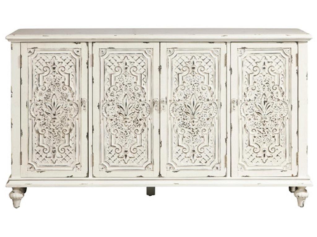 Pulaski Furniture AccentsOrnate 4 Door Credenza
