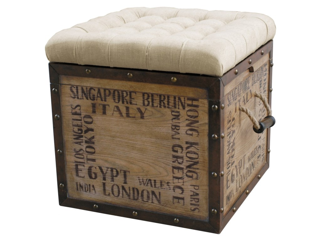 Pulaski Furniture AccentsStorage Ottoman