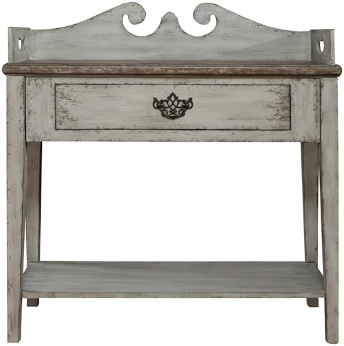 Pulaski Furniture Accents Weathered Accent Table