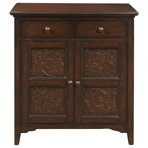 Pulaski Furniture Accents Smiley Accent Chest with Faux Worked Metal Front