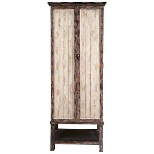 Pulaski Furniture Accents Rutledge Accent Cabinet with Plank Effect Doors