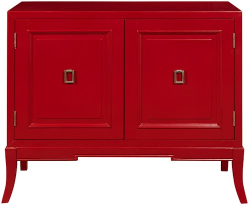 Pulaski Furniture Accents Accent Chest in Habanero Finish