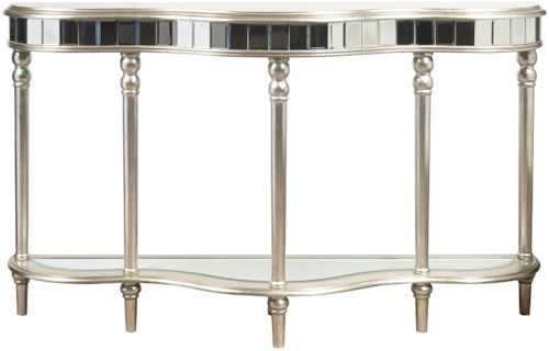 Pulaski Furniture Accents Mirrored Console Table