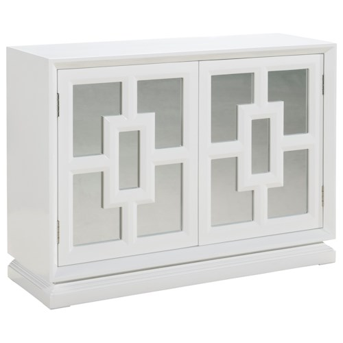 Pulaski Furniture Accents Melanie Console with Adjustable Shelving