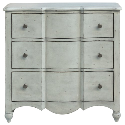 Pulaski Furniture Accents Stefan Accent Chest with Wood Drawer Guides
