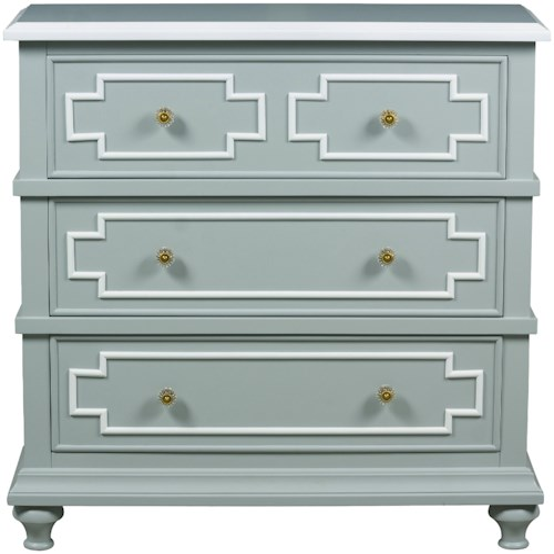 Pulaski Furniture Accents 3 Drawer Kempston Accent Chest