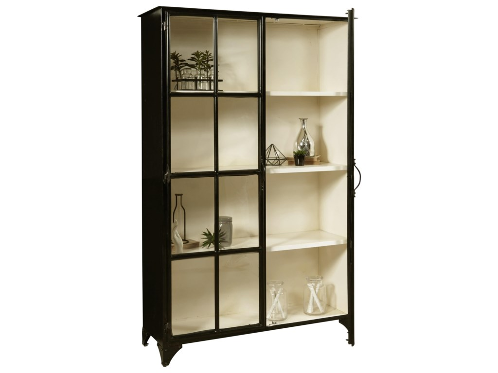 Pulaski Furniture AccentsMetal Display Cabinet