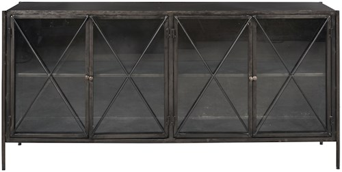 Pulaski Furniture Accents Iron Console Table