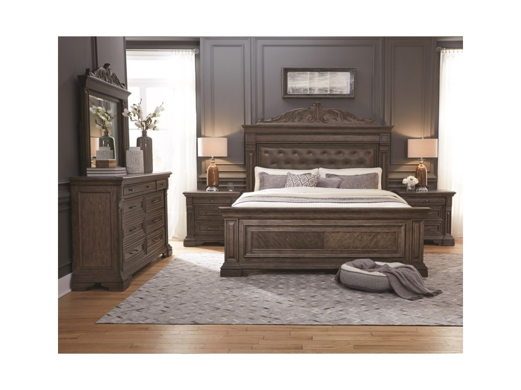 Pulaski Furniture Bedford HeightsQueen Bedroom Group