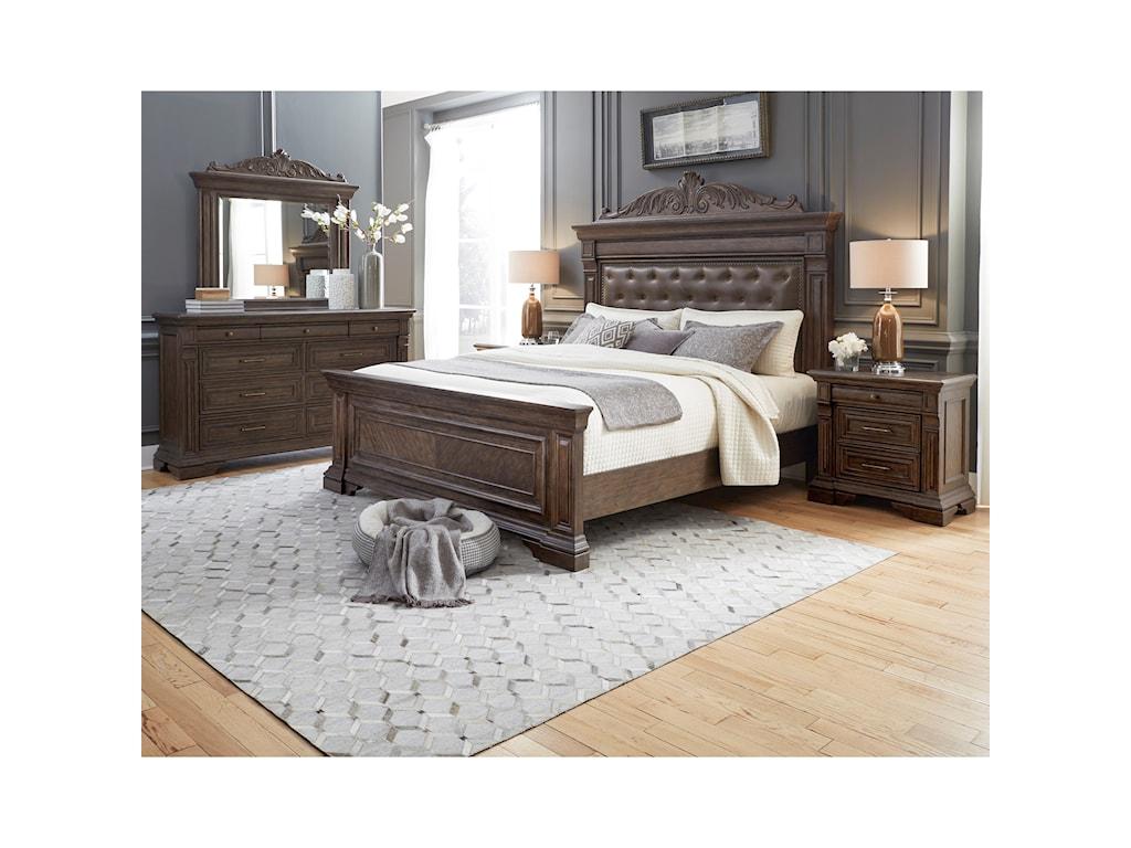 Pulaski Furniture Bedford HeightsDresser and Mirror Combo