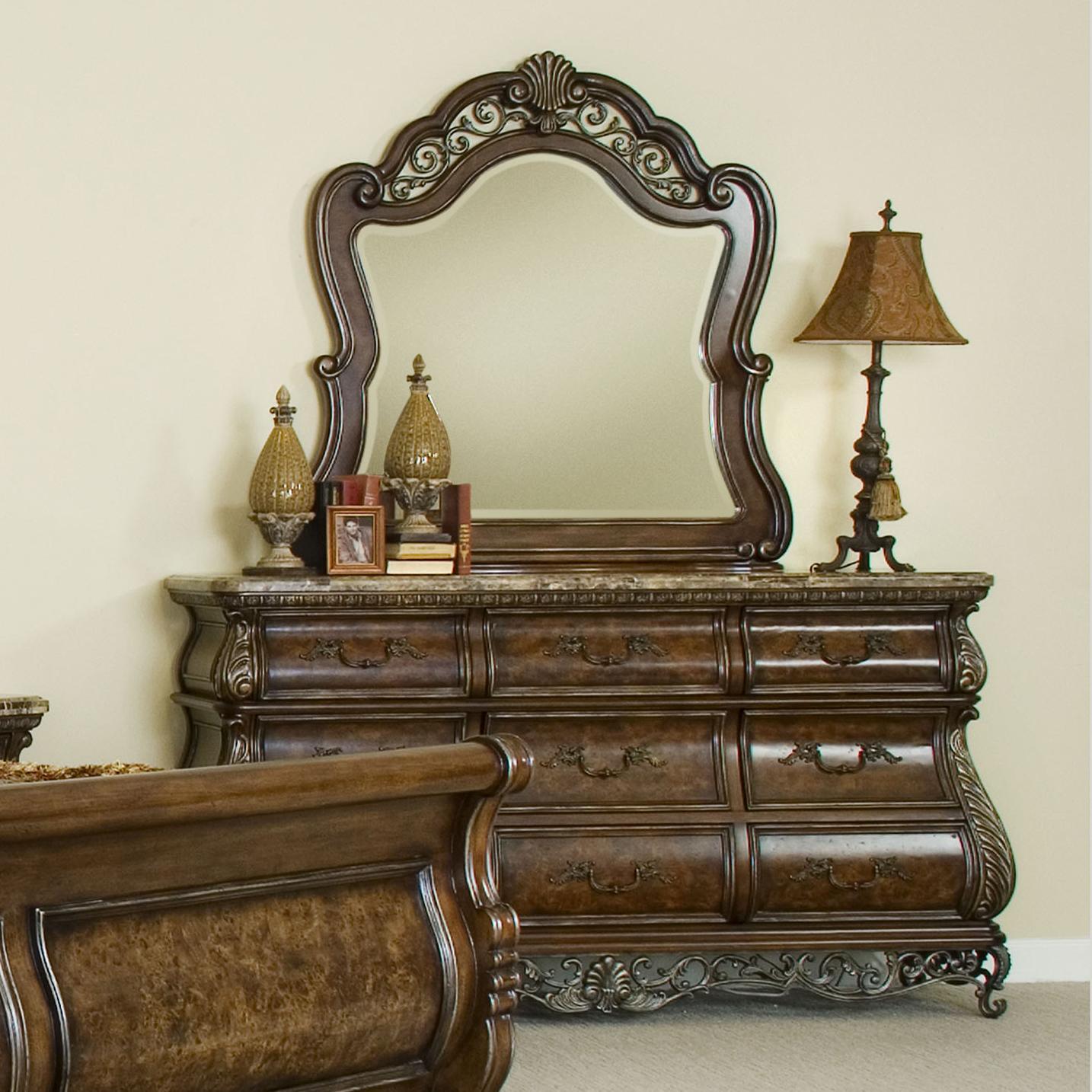 Pulaski Furniture BirkhavenDresser U0026 Mirror Combo ...