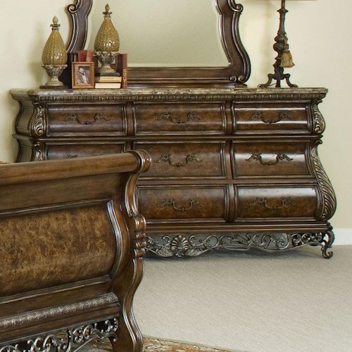 Pulaski Furniture Birkhaven Nine Drawer Dresser