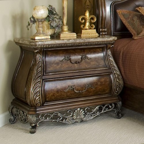 Pulaski Furniture Birkhaven Two Drawer Nightstand