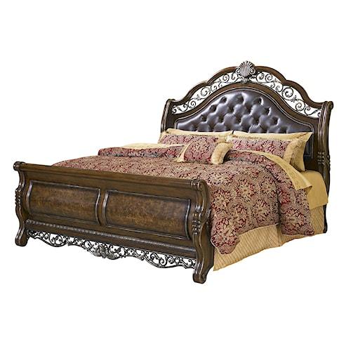 Pulaski Furniture Birkhaven King Sleigh Bed