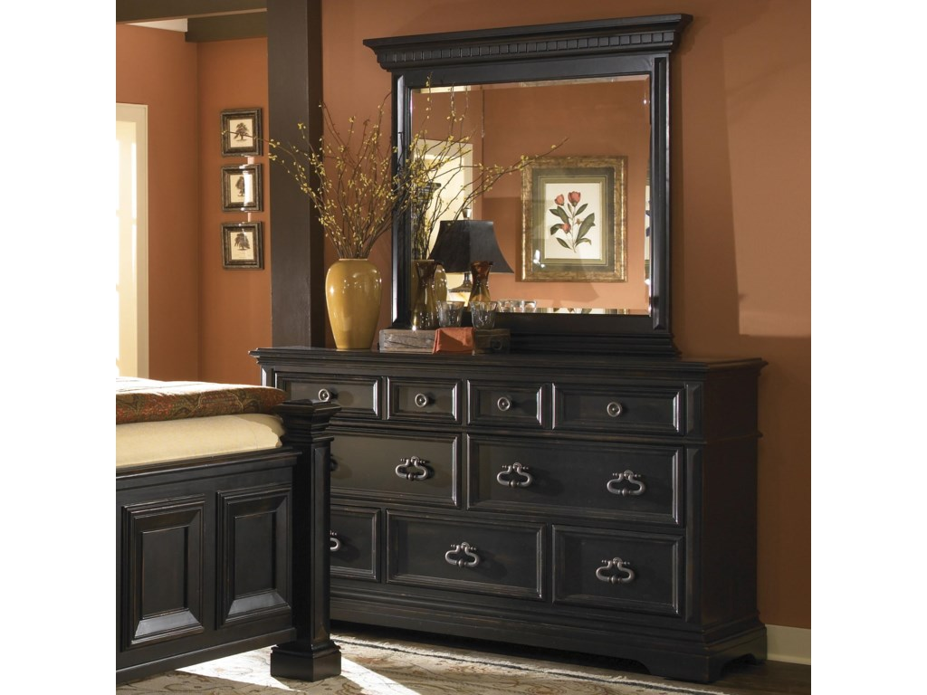 Pulaski Furniture BrookfieldBrookfield Dresser and Mirror