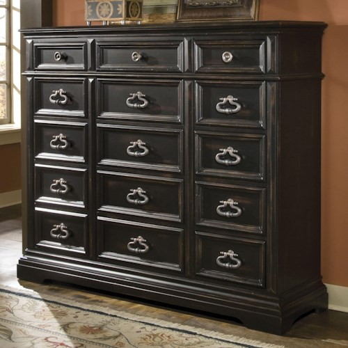 Pulaski Furniture Brookfield 15 Drawer Gentlemen's Bedroom Chest