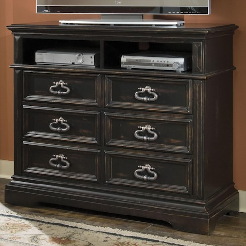 Pulaski Furniture Brookfield Media Chest with Drawers
