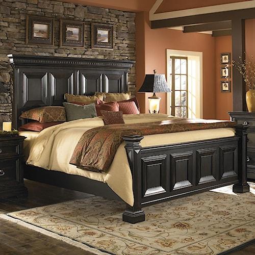 Pulaski Furniture Brookfield King Panel Bed