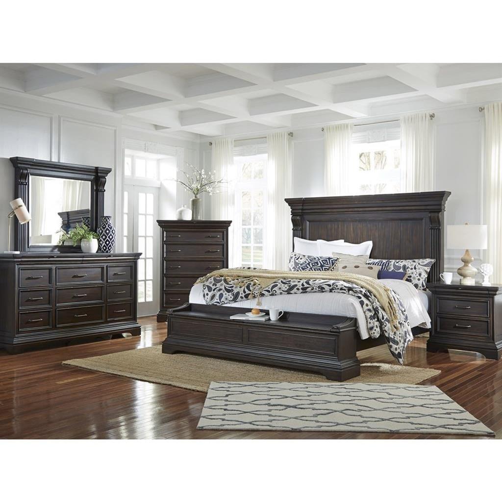 Pulaski Furniture Caldwell Queen Bedroom Group Wayside Furniture Bedroom Groups