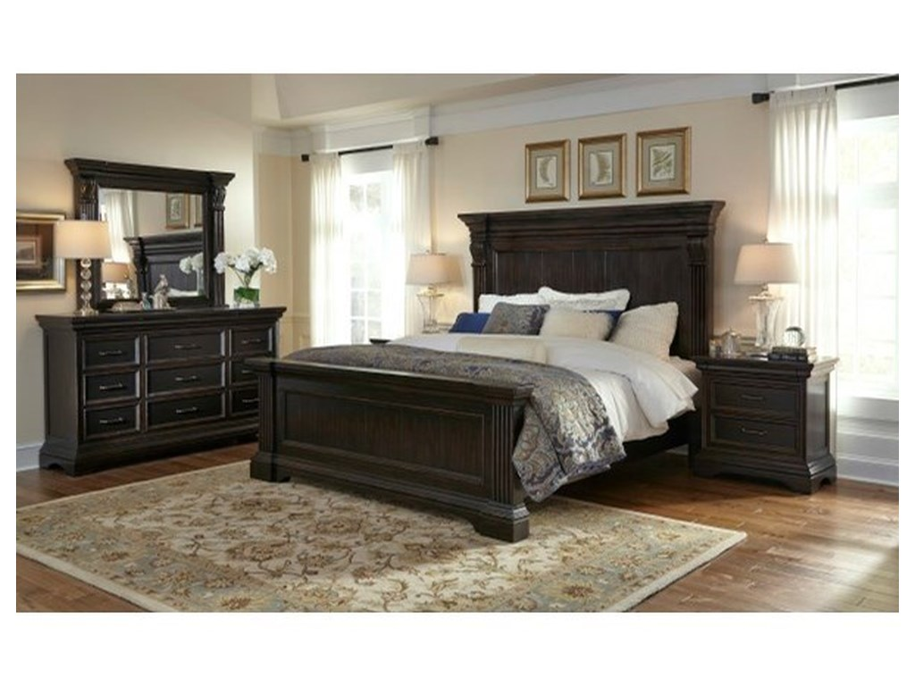 Pulaski Furniture CaldwellCalifornia King Bed