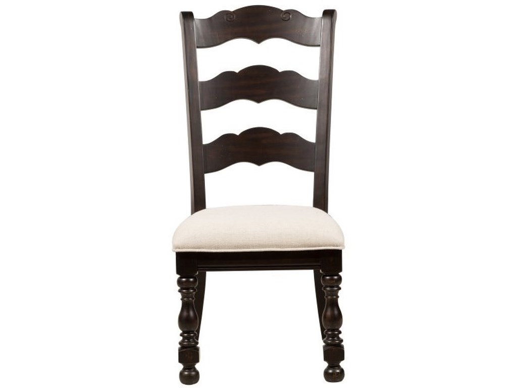 Pulaski Furniture CaldwellWood Back Side Chair