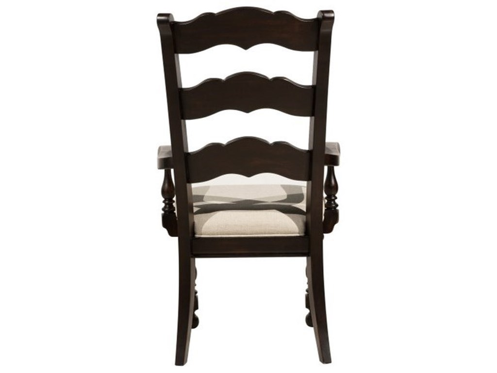 Pulaski Furniture CaldwellWood Back Arm Chair