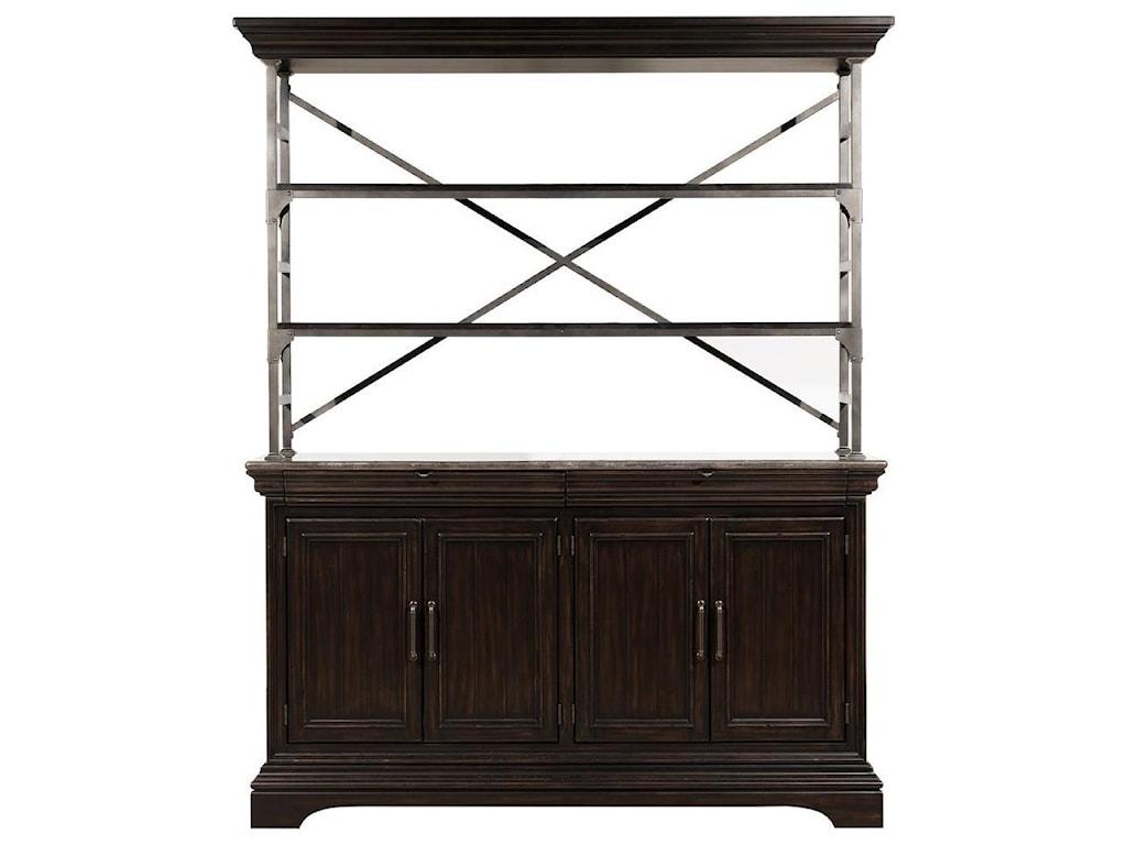 Pulaski Furniture CaldwellSideboard and Hutch
