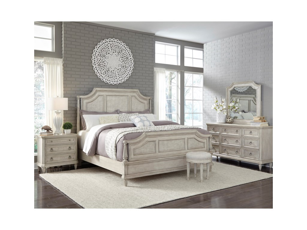 Pulaski Furniture Campbell StreetKing Bedroom Group