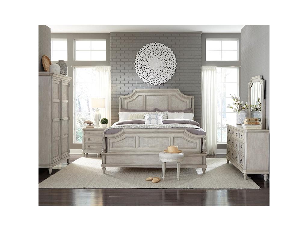 Pulaski Furniture Campbell StreetKing Bedroom Group