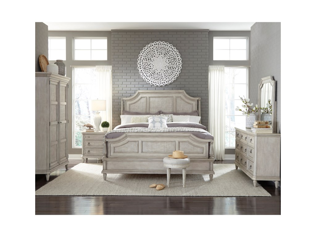 Pulaski Furniture Campbell StreetQueen Panel Bed