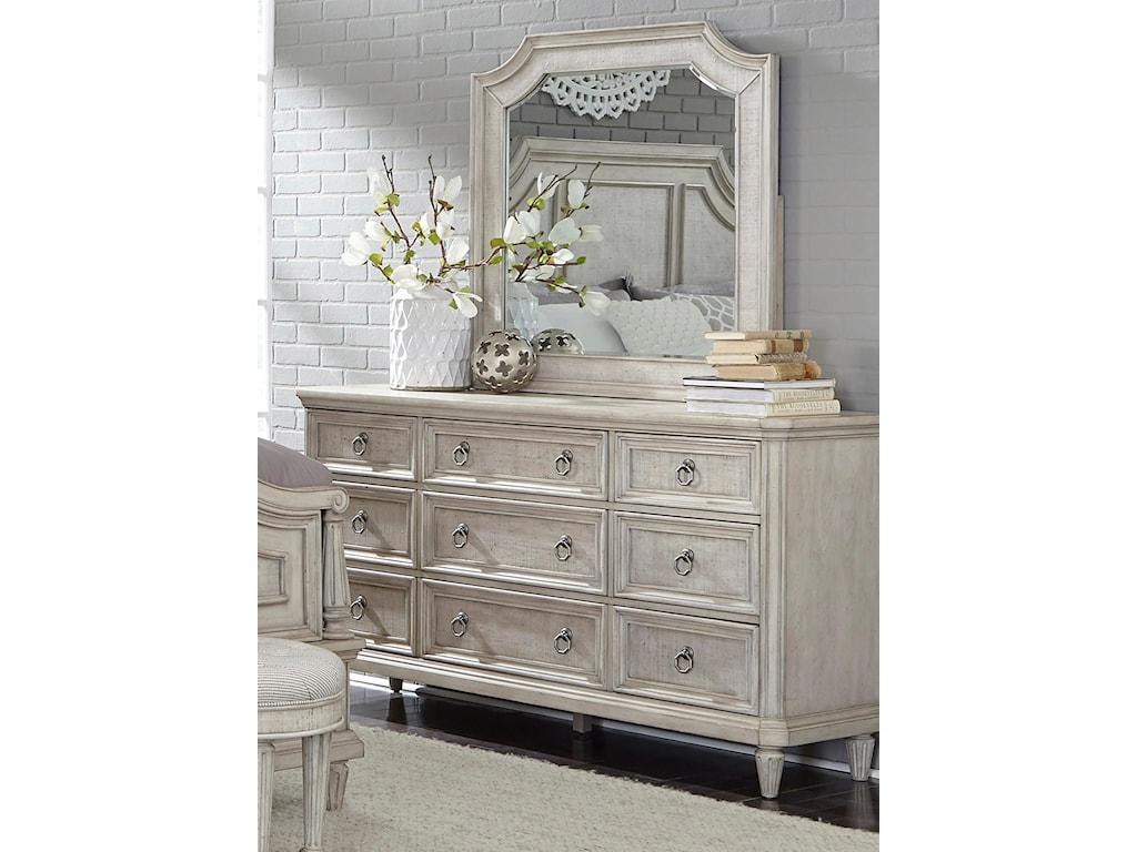 Pulaski Furniture Campbell StreetDresser & Mirror