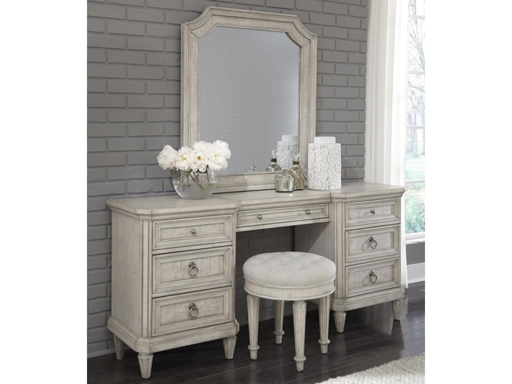 Pulaski Furniture Campbell StreetVanity Table with Mirror