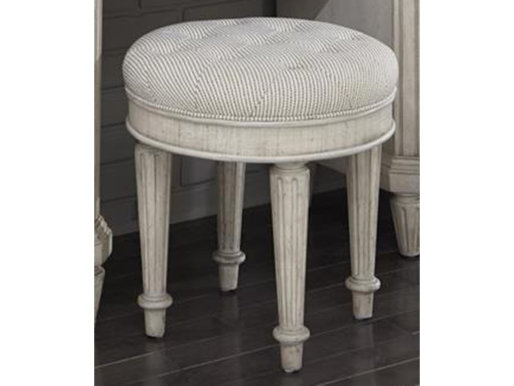 Pulaski Furniture Campbell StreetRound Vanity Stool