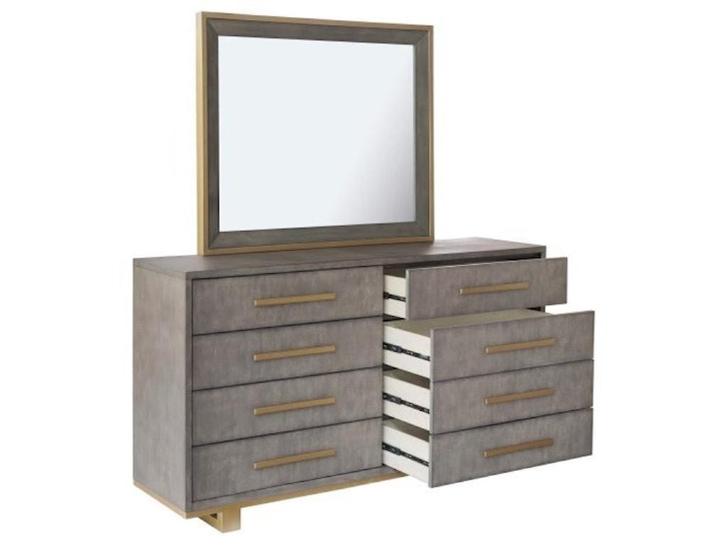 Pulaski Furniture CarmenDresser and Mirror