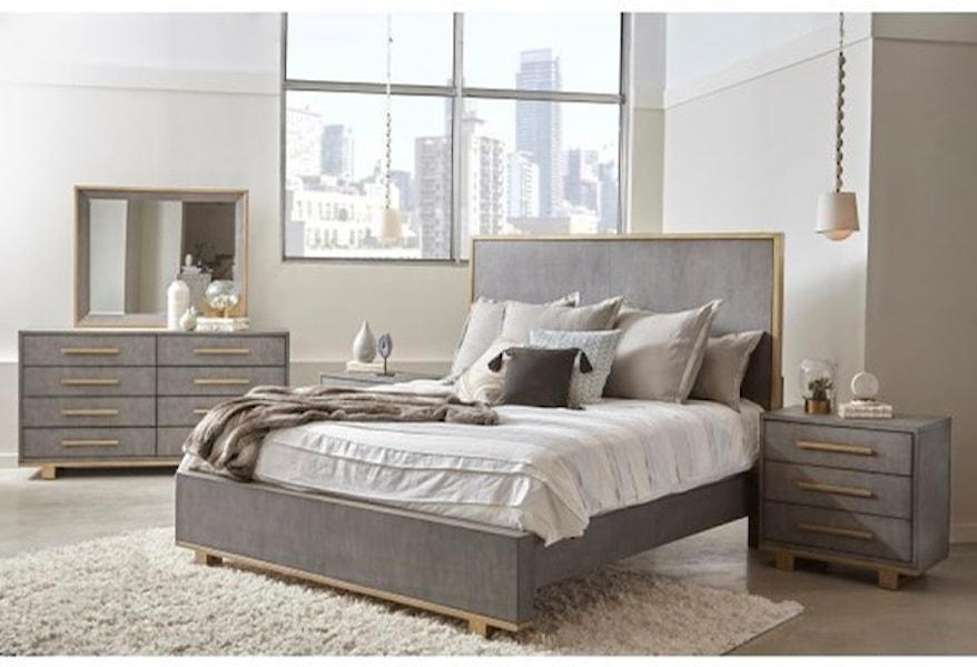 Pulaski Furniture Carmen P077100 Contemporary Dresser With Metal Accents Dunk Bright Furniture Dressers